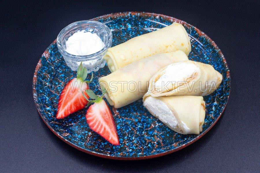 Млинці з сиром солодким (1 кг)